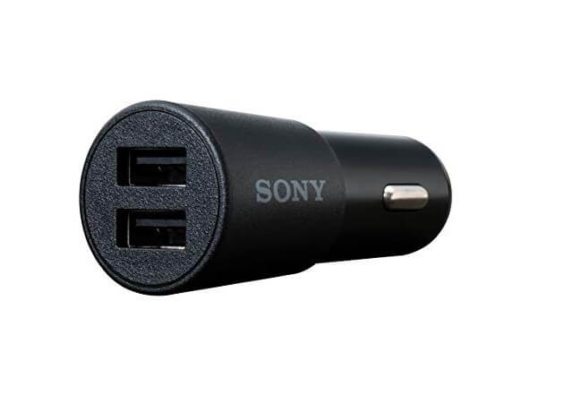 Sony 97713198 Car Charger (Black)