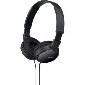 6) Sony MDR-ZX110 On-Ear Stereo Headphones