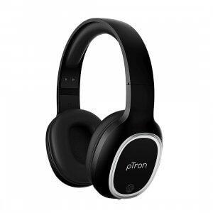 4) pTron Studio Over-Ear